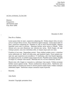 Professional Formal Letter LaTeX Template | Apontamentos ...