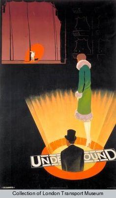By Verney L. Danvers, 1 9 2 6, Underground; theatres.