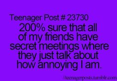 Except this one that I have, she never does that I'm sure because she's just as crazy as me lol