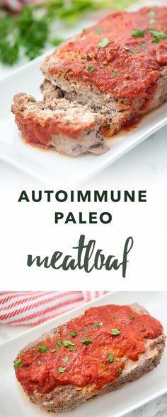 Autoimmune Paleo Meatloaf | Empowered Sustenance