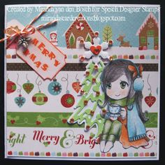 Kei with Cocoa Digital Stamp by Widya for Spesch Designer Stamps. miranda's creations: Spesch Release December