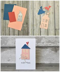 How to create an easy & simple New Home card with brand new Sizzix dies.