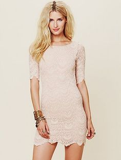 Nightcap Spanish Lace Priscilla Dress at Free People Clothing Boutique