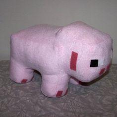 Minecraft Pig Plushie