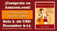 The spanish version of Putting on the Spirit. 99c on Amazon Dec 9-13, 2013