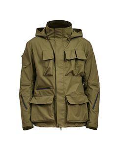 zerain stotz etaproof swiss army jacket olive