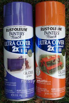 Rustoleum Spray Paint Grape