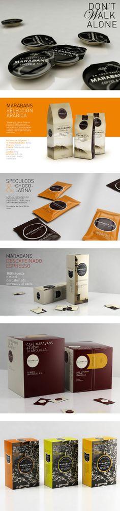 MARABANS Coffee & tea #packaging PD