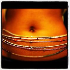 Find my proper weight and buy waist beads to help me know when I'm going up-or-down.