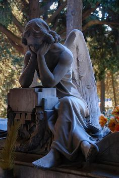 ~The pondering Angel