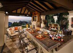 15 Stunning Outdoor Kitchens