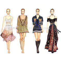 #ETRO #2016SS #collection #Fashion #Fashionillustration #Fashiondrawing #illustration #Fashionsketch #readytowear #runway