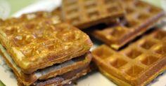 Tesia's Table: Quinoa Flour Waffles