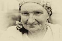 People, blind woman