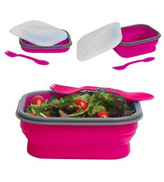 lunchbox Collapsible S - Pink