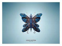 """ルイ・ヴィトン、7種類の""""昆虫""""でスプリングコレクションを訴求"""