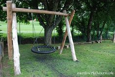 Basket swings are great for groups of children, toddlers and less able children.