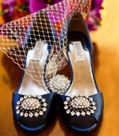 Fabulous shoes for the bride
