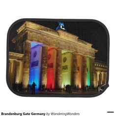 Brandenburg Gate Germany Car Mats