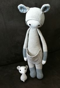Kira kangourou au crochet