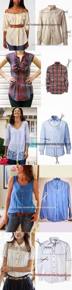 iskusnitsa-tm.ru Sewing, Cabo, Crochet, How To Wear, Lace, Bias Tape, Blouses, Tejidos, Dressmaking