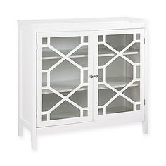 Fetti Large Cabinet in White