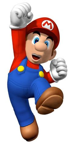 I'm going to print this out and use as a pin the mustache on Mario game for E's party.