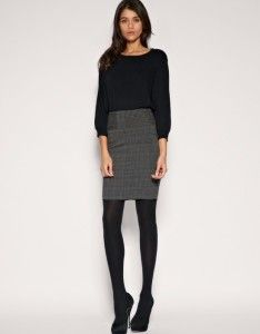 Cute work outfit..skirt should be longer!! · Pinlibrary.com-Most Popular Pins On Pinterest