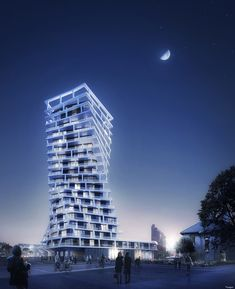 Gallery of Hamonic + Masson & Associés Unveil Twisting Residential Tower to Be Built in Le Havre, France - 4