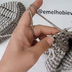 EMEL HOBİ EVİ (@emelhobievi) • Instagram-fényképek és -videók Crochet Socks, Photo And Video, Knitting, Videos, Instagram, Accessories, Photos, Fashion, Moda