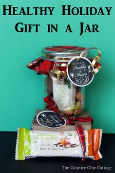 Mason jar crafts on pinterest mason jar gifts painted Country christmas gifts to make