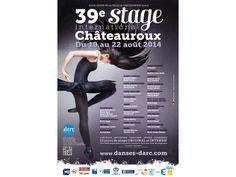 Festival DARC, Danse Art Rythme Culture. Du 12 au 22 août 2014 à chateauroux.