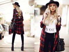 Maxi Shirt Dress, Brashy Couture Shirt, Pants, La Moda Uk Bag