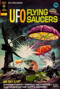 UFO Flying Saucers (No.3, 1968)
