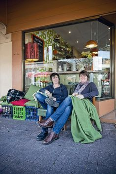 The ladies behind Ginger's Coffee Studio & Pantry on Egmont in Adelaide. As seen in the Adelaide* magazine August 2012 issue.
