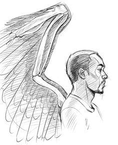 BRB, sketching Sam Wilson forever.