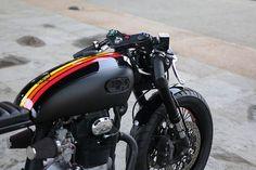 Honda CB350 Cafe Racer - Cognito Moto #motorcycles #caferacer #motos | caferacerpasion.com