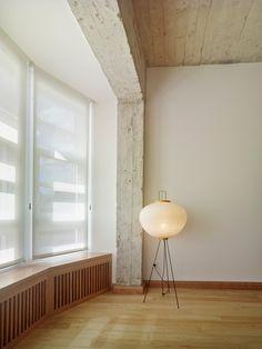 Reform in Vigo is a minimalist renovation located in Vigo, Spain, designed by Ansede Quintáns Arquitectos Apartment Renovation, Furniture Design, Apartment, Living Dining Room, Living Room Scandinavian, Living Room Designs, Interior, Home Decor, Interior Architecture