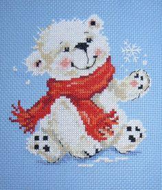 Gallery.ru / Фото #2 - Белый медвежонок, Алиса - fuchsia-flower