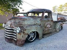 3100 rat rod patina shop truck chevrolet 3100