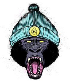 APESH!T by Nkululeko Zulu, via Behance
