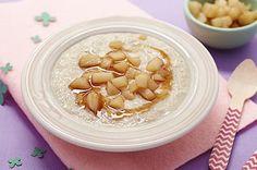 Bouillie flocons d'avoine poires et miel 9/12 mois