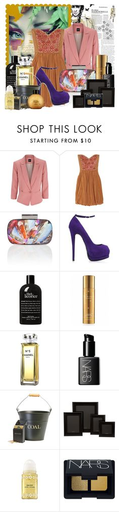 """Untitled"" by katerin4e-d ❤ liked on Polyvore featuring Viktor & Rolf, Oasis, TIBI, Matthew Williamson, Giuseppe Zanotti, C.R.A.F.T., philosophy, Victoria's Secret, Chanel and Space NK"