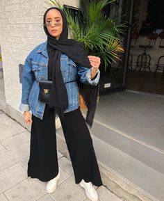 130 stylish street style looks for exceptional eid outfit ideas – page 1 Modern Hijab Fashion, Street Hijab Fashion, Hijab Fashion Inspiration, Muslim Fashion, Modest Fashion, Korean Fashion, Hijab Style Dress, Casual Hijab Outfit, Hijab Chic