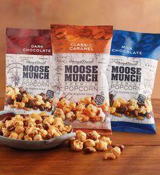 Moose Munch® Premium Popcorn Snack Trio