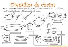 1000 images about materiales a1 on pinterest ejercicio - Instrumentos de cocina ...
