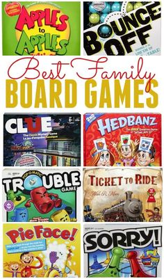 If you enjoy a good family game night then check out these best family board games. From classic Scrabble to Wet Head there is so much fun to be had. Best Family Board Games, Family Fun Games, Family Fun Night, Board Games For Kids, Night Kids, Good Board Games, Scrabble, Classic Board Games, Vintage Board Games