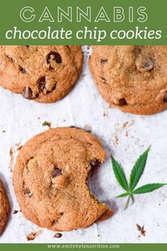 Marijuana Recipes, Cannabis Edibles, Coconut Oil Cookies, Cookie Recipes, Dessert Recipes, Desserts, Chocolate Chip Cookies, Chocolate Chocolate, Quotes