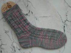 Erstes Sockenpaar mit Muster