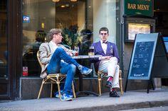 Яркие мужчины, серые женщины: как одеты стокгольмцы Scandinavian Fashion